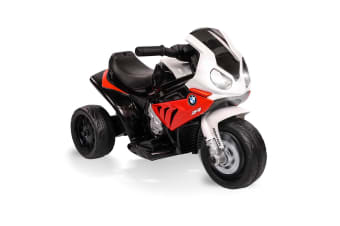 ROVO KIDS Ride On Motorcycle Licensed BMW S1000RR Electric Motorbike Police Red