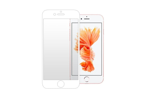 3 Pack Screen Protector for iPhone 6/6s (White)