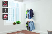 Ovela Adjustable Telescopic Clothes Hanger