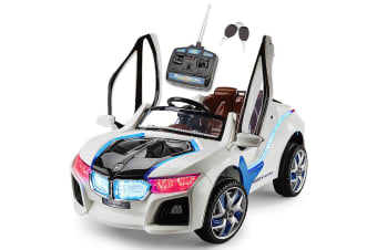 ROVO KIDS Ride On Car BMW i8 Inspired Electric Battery Toy Motorised 2 Speed