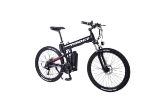 "TAOCI 350W 36V HM Mountain Motorized Bicycle Road Electric Bike eBike 26"" Black"
