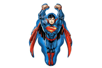 Anagram Supershape Flying Superman Balloon (Blue/Red)