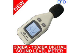 Digital Sound Level Meter 30Dba ~ 130Dba ?1.5Db Decibels Max Hold Gm1351