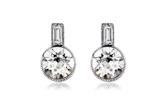 Entice Drop Earrings Embellished with Swarovski crystals