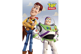 Toy Story Poster (Multicoloured) (61cm x 91.5cm)
