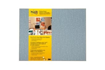 3M Post-It Memo Board 558-ICE W584 X H457mm