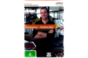 Neil Perry Fresh & Fast - Series Region All Rare- Aus Stock DVD NEW