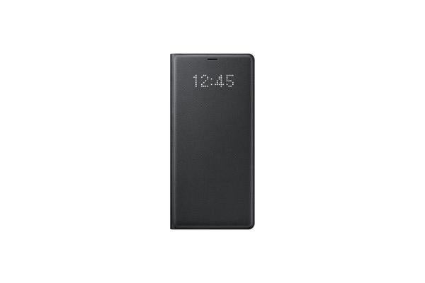 Samsung Galaxy Note 8 LED View Cover - Black Sometimes its whats on the outside that counts