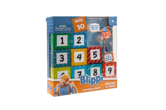 Blippi Leaning Numbers Surprise Box