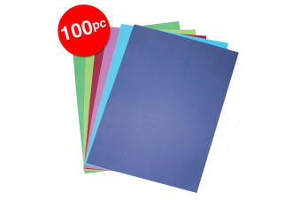 2x 50pc Colourful Days A3 Board 200GSM Cool Craft School Paper Assorted Colours