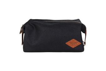 Gentlemen`s Hardware Waxed Canvas Wash Bag