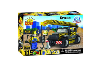 Action Town 115 Piece Construction Crane Construction Set
