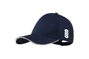 Surridge Unisex Classic Fitted Baseball Cap (Navy)