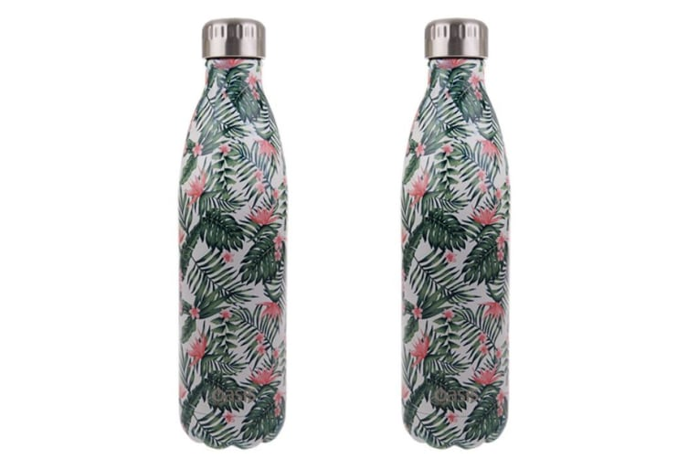 2x Oasis 750ml Double Wall Insulated Drink Water Bottle Vacuum Flask Bird PARD