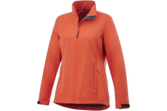 Elevate Womens/Ladies Maxson Softshell Jacket (Orange) (S)