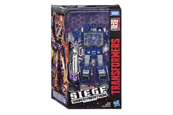 Transformers Generation War for Cybertron Trilogy Soundwave