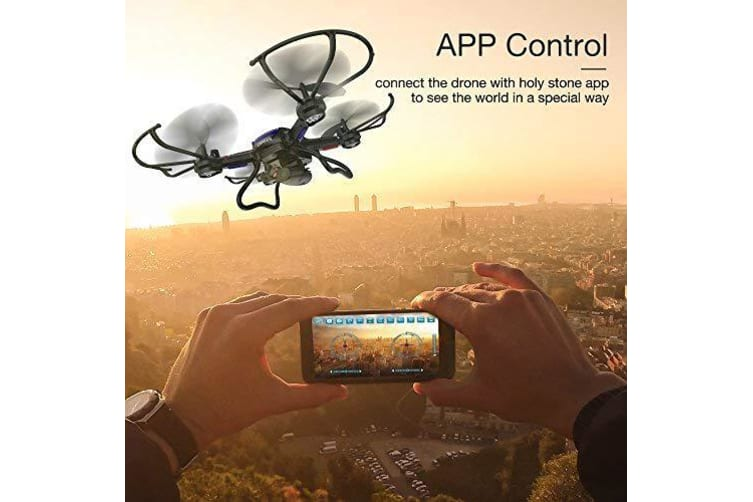 Holy Stone F181W WiFi FPV Quadcopter Drone Wide Angle HD Camera One Key Return