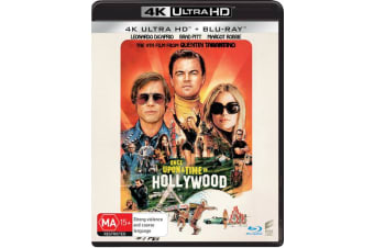 Once Upon a Time In Hollywood 4K Ultra HD Blu-ray UHD Region B