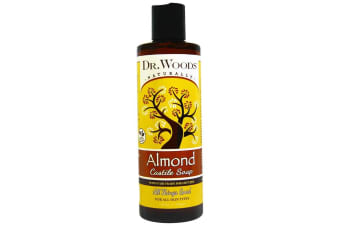 Dr. Woods Almond Castile Soap with Fair Trade Shea Butter - 236ml