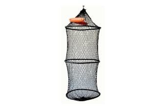 Seahorse Jumbo Collapsible Floating Keeper Net With Draw Cord Closure-Poly Creel
