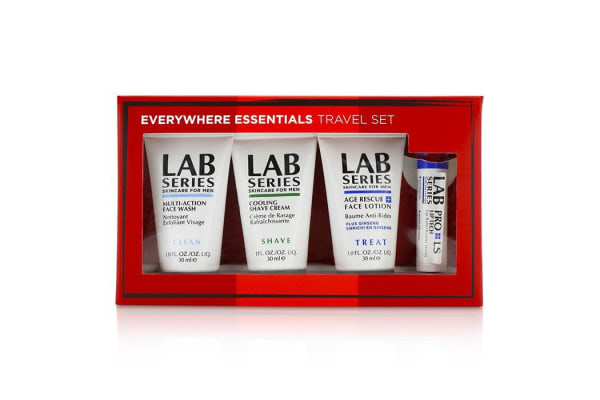 Aramis Lab Series Travel Set: Multi-Action Face Wash 30ml + Face Lotion 30ml + Shave cream 30ml + Lip Balm 4.3g (4pcs)