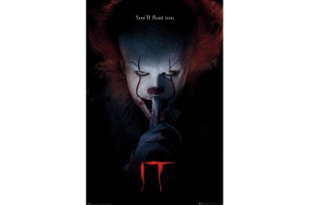 IT Pennywise Hush Poster (Multicoloured) (One Size)