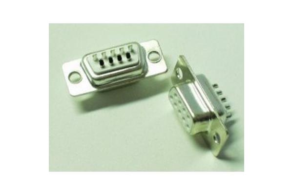 9 Pin Female Serial Connector - Solder Cup