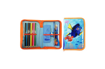 Finding Dory Official Childrens/Kids Filled Pencil Case (Blue) (One Size)