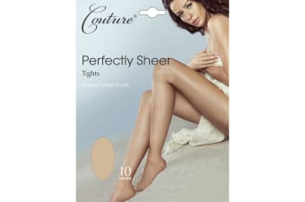 Couture Womens/Ladies Perfectly Sheer Tights (1 Pair) (Black)