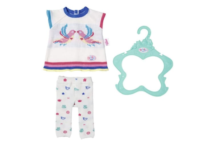 Baby Born Trend Knitwear Doll Clothes Set - 43cm
