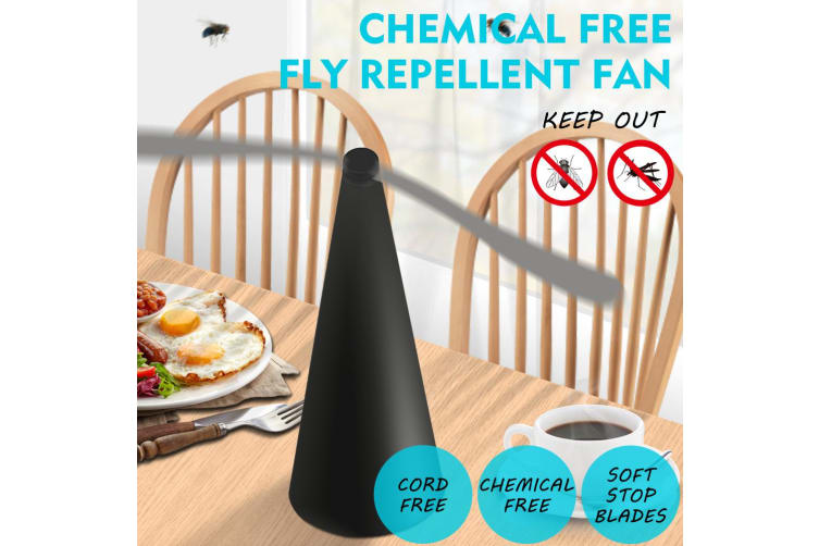 Fly Free Entertaining Chemical Free Fly Repellent Fly Fan Indoor Outdoor Home