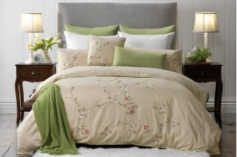 Bianca Elegance Estelle  Quilt Cover Set (Queen Bed)