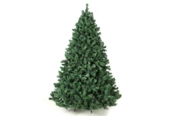 Jingle Jollys 2.1M 7FT Christmas Tree 3000 LED Bulbs Lights Warm White Bonus Bag