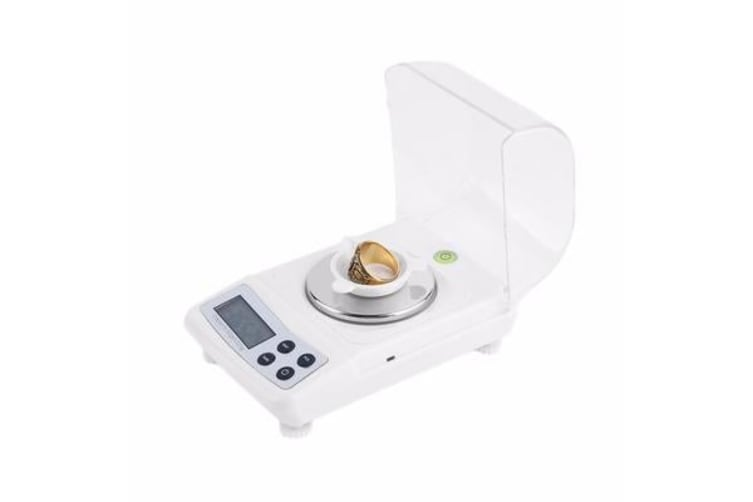 50G Digital Scale Backlit Lcd 0.001G Graduation Precise Compact Jewelry Scale