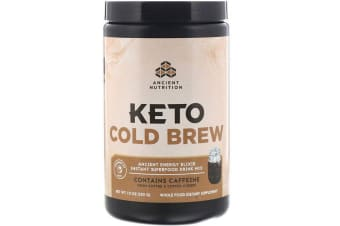 Dr. Axe / Ancient Nutrition, Keto Cold Brew Ancient Energy Elixir 220g
