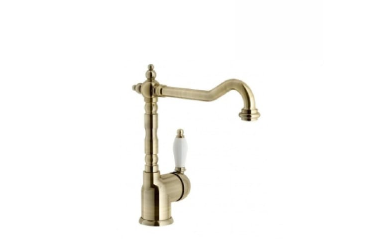 Turner Hastings Clasico Single Sink Mixer 18113BR Lacquered Bronze 18113BR