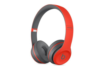 Beats Solo3 Wireless Headphones (Electric Red)