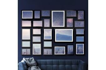 Artiss Black Photo Frames Collage Picture Frame Wall Set Home Decor Gift 26 PCS