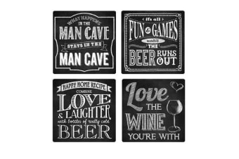 Ogilvies Coasters Chalkboard Set of 4