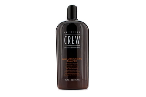 American Crew Men Daily Moisturizing Shampoo (For All Types of Hair) (1000ml/33.8oz)