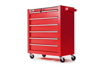 BULLET 6 Drawer Tool Box Cabinet Trolley Garage Toolbox Storage Mechanic Chest