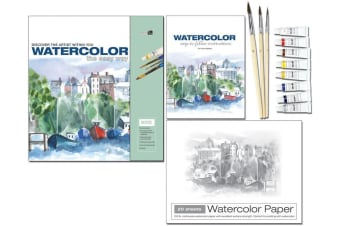 Watercolor - The Easy Way : Discover the Artist within You, by Philip Berrill
