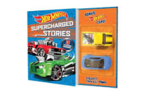 Hot Wheels Supercharged Stories (3 Reader Bind-up with two cars)