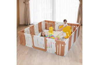 22 Panel Non-Toxic Baby Playpen