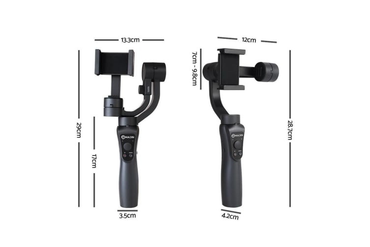 Emajin 3-axis Handheld Gimbal Stabilizer for Smartphone Gropo Iphone Android