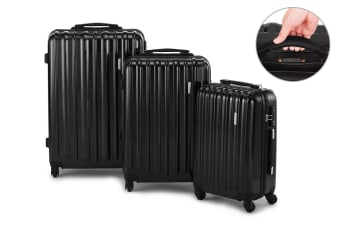 Orbis 3 Piece Self Weighing Spinner Luggage Set