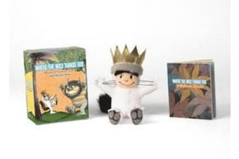 Where the Wild Things Are - Max Plush Toy and Sticker Book