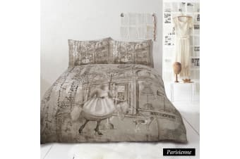 Parisienne Quilt Cover Set KING by Retro Home