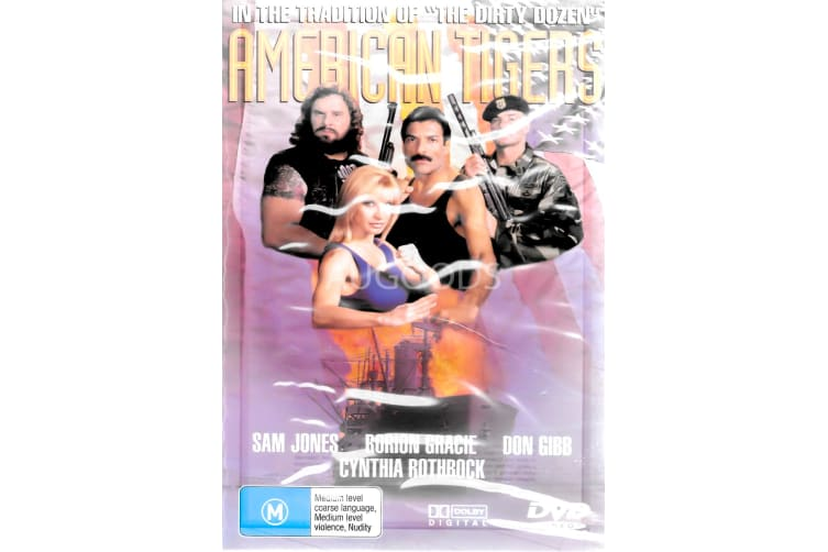 American Tigers - Region All Rare- Aus Stock DVD PREOWNED: DISC LIKE NEW