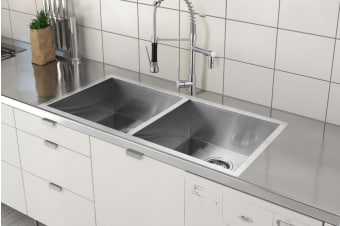 Kromo Vironia 350C Kitchen Sink (39.5 x 39 x 19.5cm)
